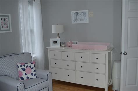 ikea pink and white dresser pink and navy blue we you project nursery