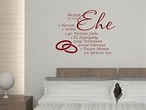 Wandbilder Für Küche Und Esszimmer : wandtattoo spruch aufkleber wand deko ideen f r k che rezept f r gute ehe ebay ~ Orissabook.com Haus und Dekorationen