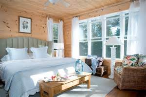 French Country Cottage Living Room Ideas by Shiplap Pine Gives Canadian Lake House A Cozy Feel