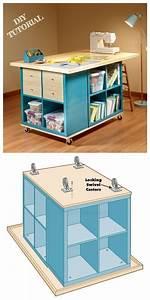 Ikea Kallax Anleitung : ikea kallax cube basteltisch diy tutorial upcycling ideen stricken ist so ei welcome to ~ A.2002-acura-tl-radio.info Haus und Dekorationen