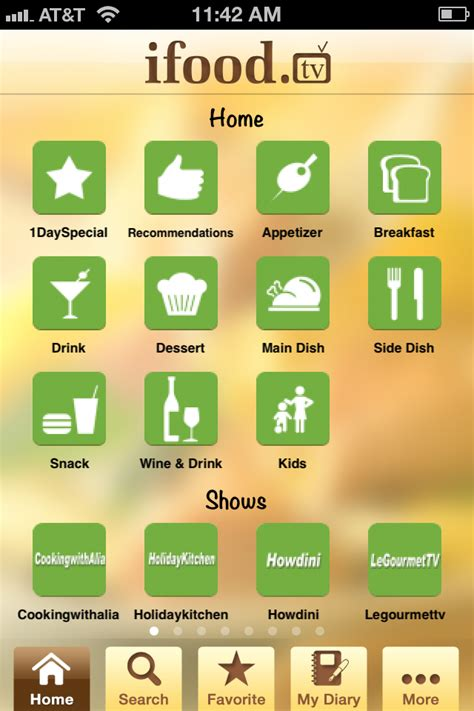 application cuisine android android apps food journal 2012 apps hyper
