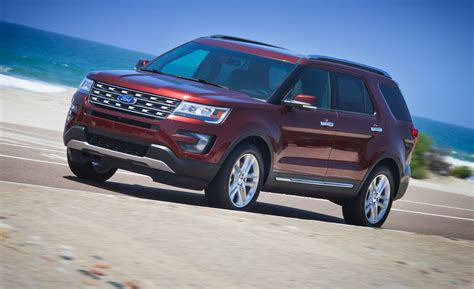 2016 Explorer Review by 2016 Ford Explorer Drive Review Car And Driver