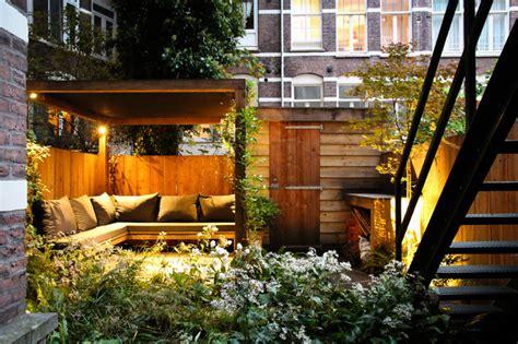 City Backyard Ideas - small city garden contemporary patio amsterdam by