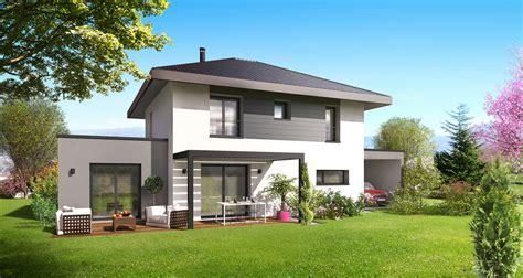 maison design avec carport sur plan le mod 232 le herm 232 s du groupe artis