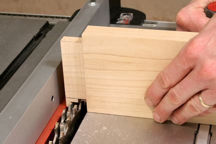How To Cut Tenons With Dado Set  Table Saw Woodworking