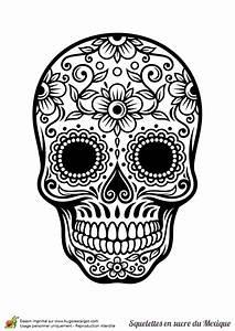 Crane Mexicain Dessin : coloriage cr ne en sucre mexicain fleurs et harmonie tatoos tatouages ~ Melissatoandfro.com Idées de Décoration