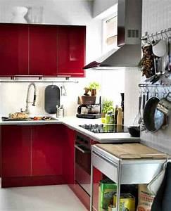 comment amenager une petite cuisine deco de cuisine With amenager une toute petite cuisine
