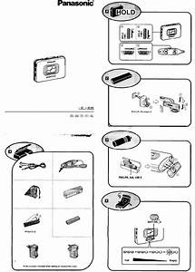 Panasonic Cassette Player Rq