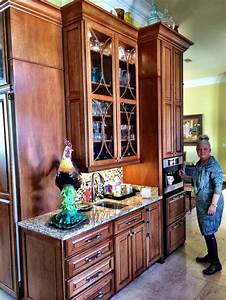 coffee center and built in ice maker schuler cabinetry With kitchen cabinets lowes with car sticker making