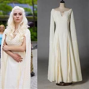 Game of Thrones 5 Costume Cosplay Daenerys Targaryen Qarth ...