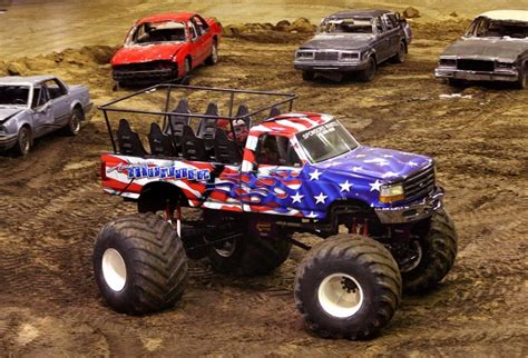 monster truck show tonight a thrill show 39 monster trucks ready to crush at la