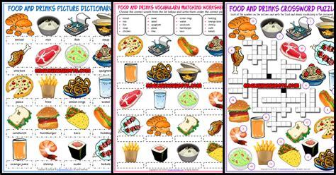 esl printable vocabulary worksheets  exercises