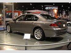 Auction results and sales data for 2004 BMW 7Series