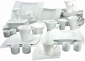 Geschirr Set Weiß : creatable kombiservice 50 teilig wing porzellan online kaufen otto ~ Buech-reservation.com Haus und Dekorationen