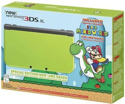 Shop for 3ds xl sd cards at best buy. Nintendo New 3DS XL Lime Green Limited Edition with 128GB Micro SD Card Upgrade | eBay