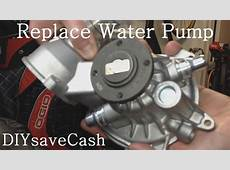 BMW E65 E66 How To Replace Your Water Pump YouTube