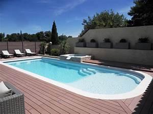 grande piscine avec plage coque avec plage With piscine avec plage californienne