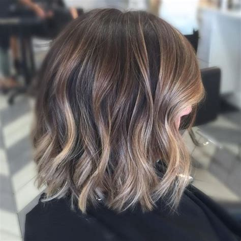 balayage styles  color ideas  short hair