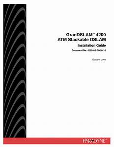 Ip Dslam Grandslam 4200 Manuals