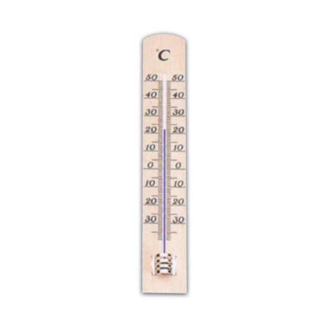 thermometre chambre décoration cuisine bois naturel