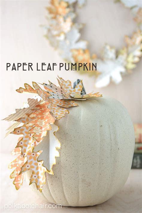 paper leaf autumn wreath tutorial  lots  gorgeous
