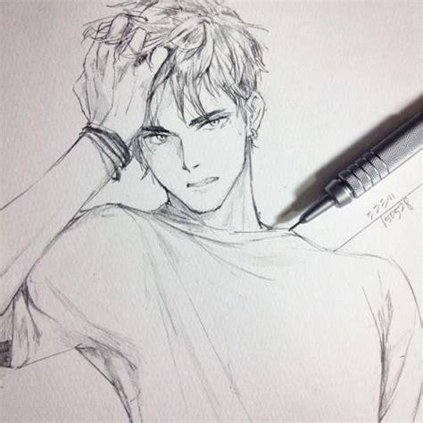 anime cool boy drawing best 20 anime boy drawing ideas on anime boy