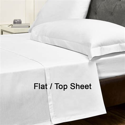 1000tc hotel cotton 1 flat top sheet 1000 flat