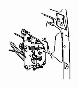 Dodge Grand Caravan Cable  Sliding Door Latch  Right