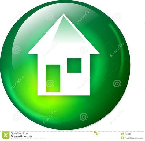 house designing websites home web button stock photo image 2001930