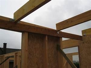 Garage En Bois Toit Plat : plan garage ossature bois toit plat evtod ~ Dailycaller-alerts.com Idées de Décoration