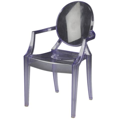 louis ghost chair by philippe starck for kartell for sale