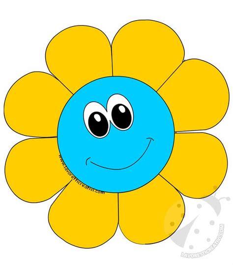 disegni con fiori colorati addobbi di primavera fiori colorati da ritagliare