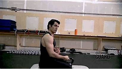 Henry Cavill Working Shirtless Steel Becoming Workout