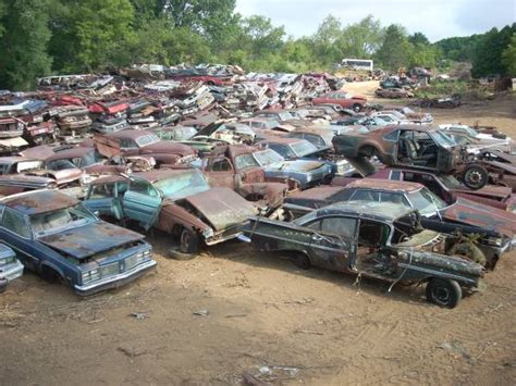 cars   crushed  east troy wisconsin