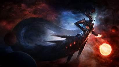 War Wallpapers Dark Fantasy Demon Planets Space