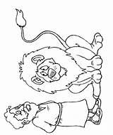 Coloring Daniel Den Lion Daniele Clipart Profeta Lions Bible Religiocando Popular Friends Outline Sheets Library Clip Southwestdanceacademy sketch template