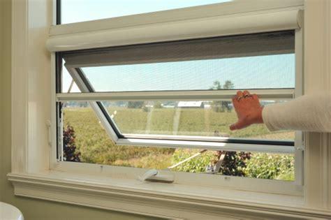 serene retractable window screens retracting