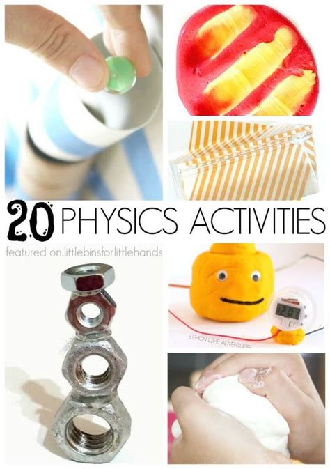 science experiments and stem activities for 372 | 20 Physics Activities Science Experiments STEM projects for kids 721x1024