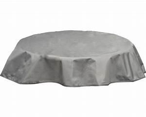 Tischdecke Rund 160 : tischdecke rund 160 cm grau jetzt kaufen bei hornbach sterreich ~ Orissabook.com Haus und Dekorationen