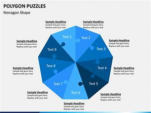 Polygon Puzzle Powerpoint Template
