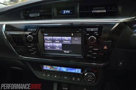 toyota corolla zr sedan review video performancedrive