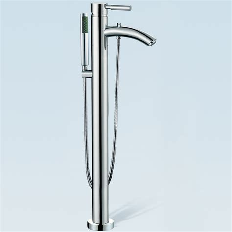 floor mount tub faucet taron floor mounted bathtub faucet by wyndham collection