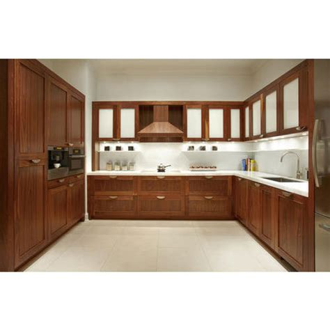 Multi Wood Kitchen Cabinets by Wooden Modular Kitchen व डन म ड य लर क चन At Rs 1390