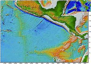 East Pacific Rise Tectonic Plate Map