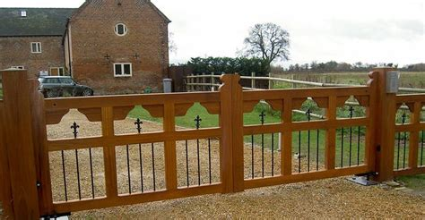 wooden driveway gate designs wooden gates rustic