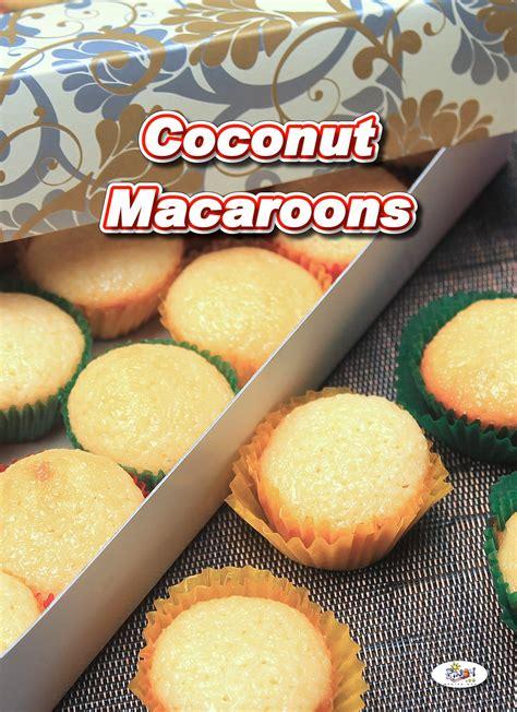 filipino coconut macaroons recipe pinoy recipe  iba pa