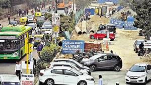 Debris mounds at construction sites across Delhi may ...
