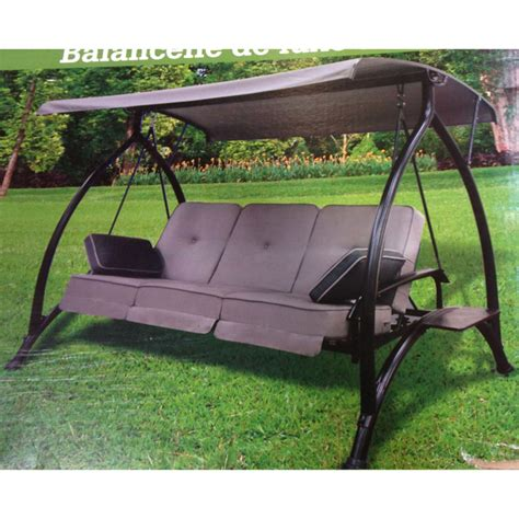 canapé swing replacement canopy for costco lounge swing garden winds canada