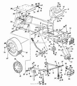 Mtd 14as820h352  1997  Parts Diagram For Lift Handle  Lift