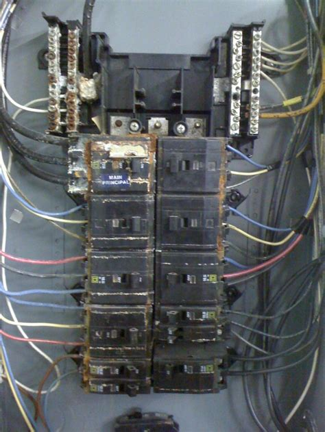 Four Box Wiring by Dulcey Electric Damaged Wiring Electrical Boxes